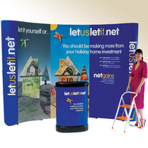 Pop Up Displays - 4 x 3 System