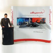 Pop Up Displays - 3 x 3 System