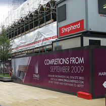 Printed Site Hoardings