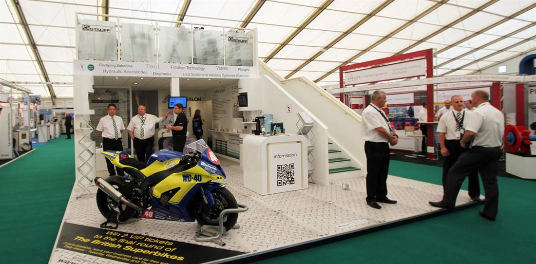 Two Story Exhibition Stand for STAUFF UK Image 9