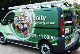 Car Amp Van Wraps Commercial Vehicle Wrapping The Image