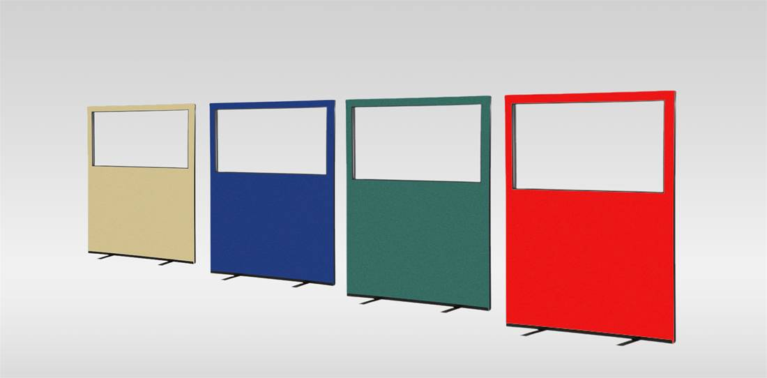 Glazed Office Screens Image 1