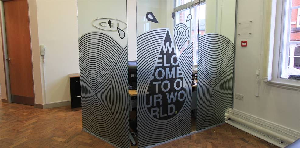 Etched Amp Frosted Vinyl The Image Group Manchester
