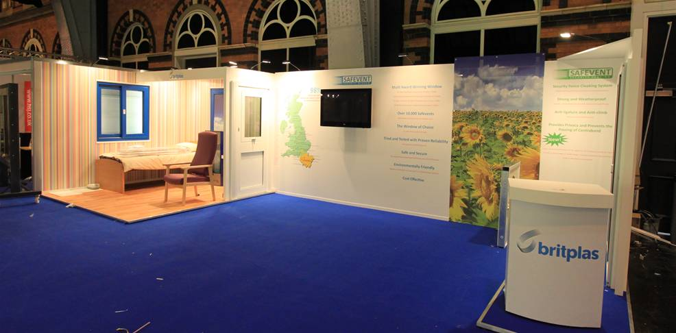 Exhibition Stand Builders Manchester : Open space exhibition stands the image group manchester