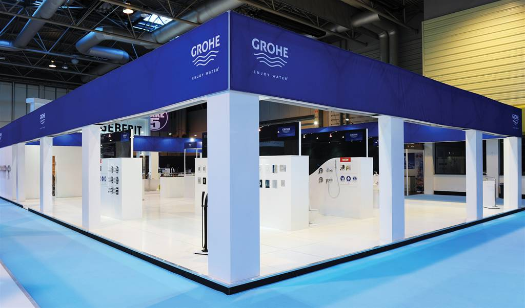 Exhibition Stand Builders Es : Open space exhibition stands the image group manchester