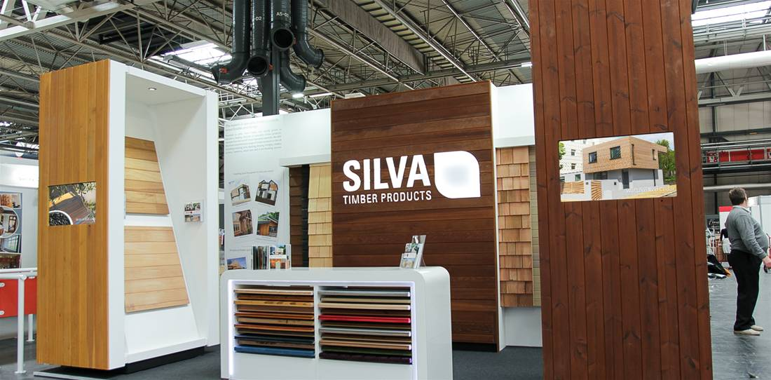 Exhibition for Silva Timber is a Grand Designs award winner! Image 1