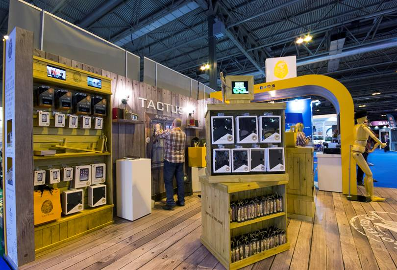 Tactus exhibit at The Gadget Show Live Image 6
