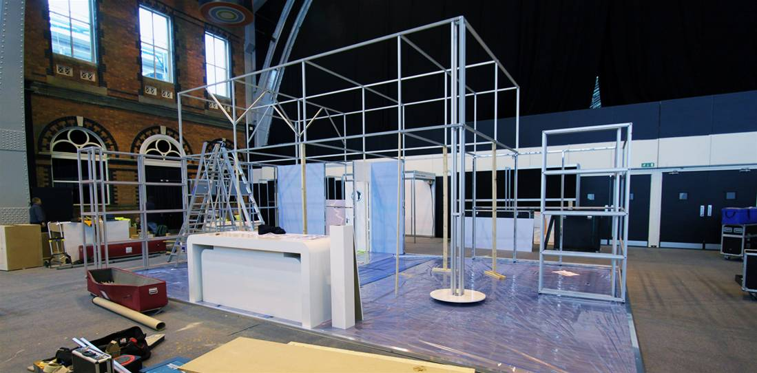 Exhibition Stand Installation : Modular exhibition stands the image group manchester