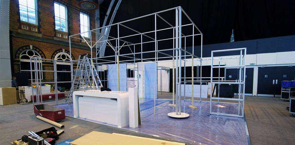 Modular Exhibition Stand Builders : Modular exhibition stands the image group manchester
