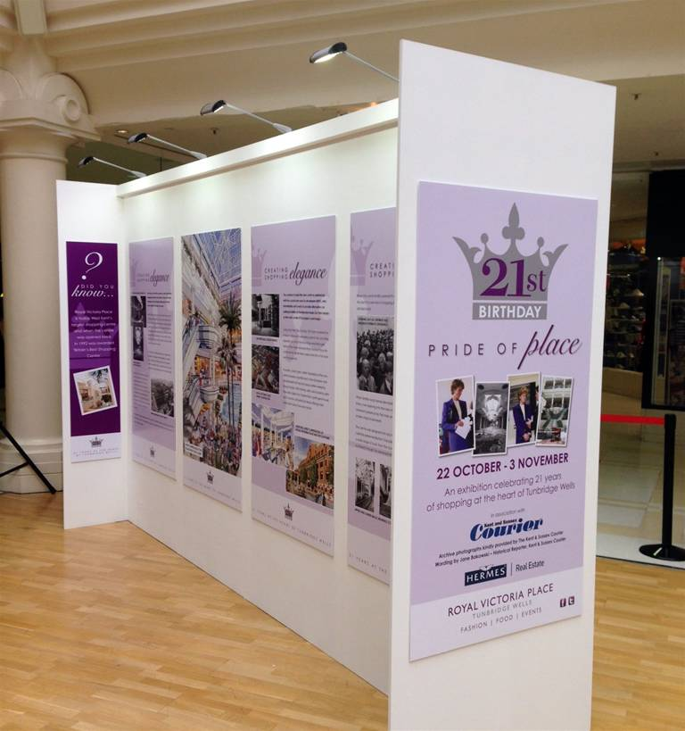Custom Built Exhibition Stands : Portable exhibition walls the image group manchester