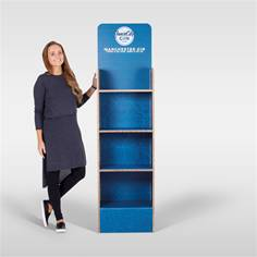 Image for POS displays such as eco shelving could provide a sales boost to your brand Story