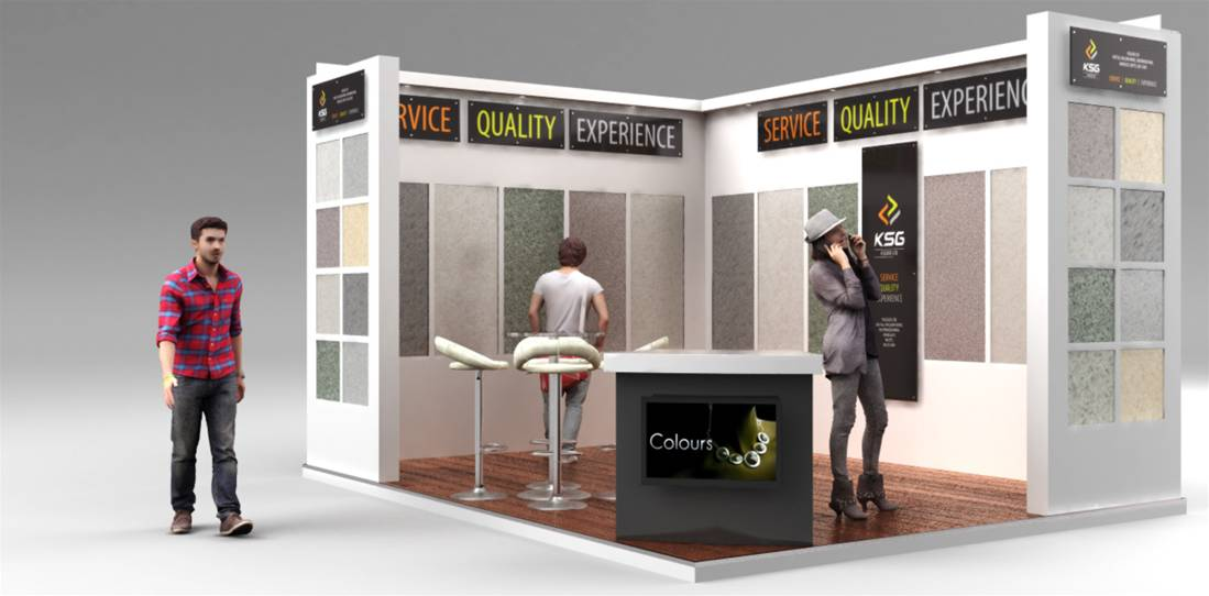 Exhibition Stand Render : Small exhibition stands the image group manchester