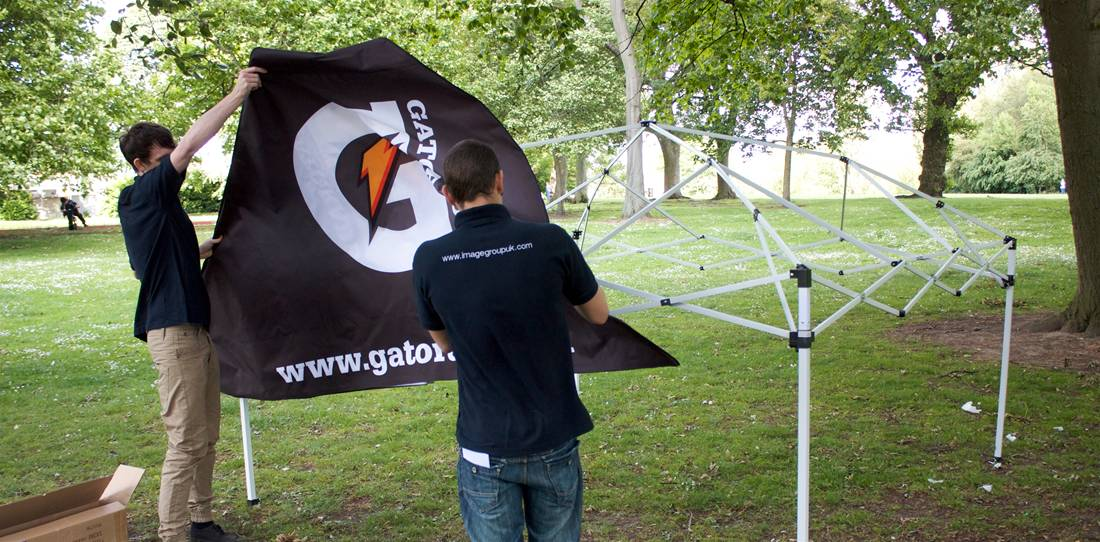 Custom Printed Gazebos Image 6