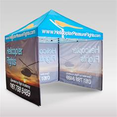 Image for Promote the best of your business this summer with gazebo printing Story