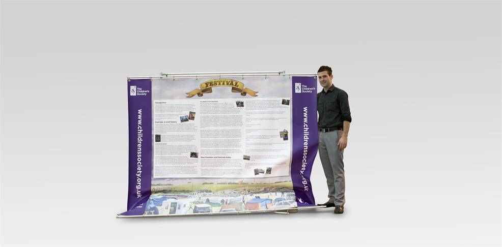 Outdoor Banner Stands Image 4