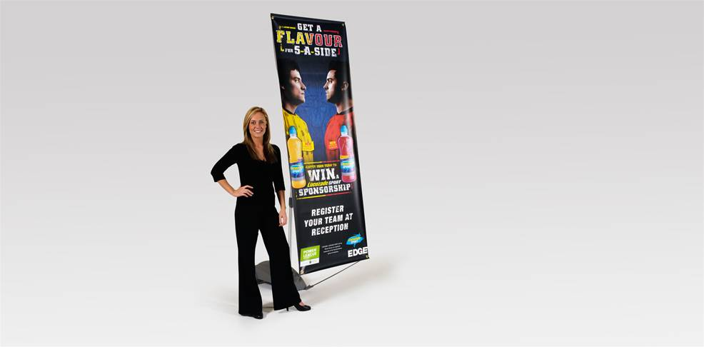 Outdoor Banner Stands Image 3