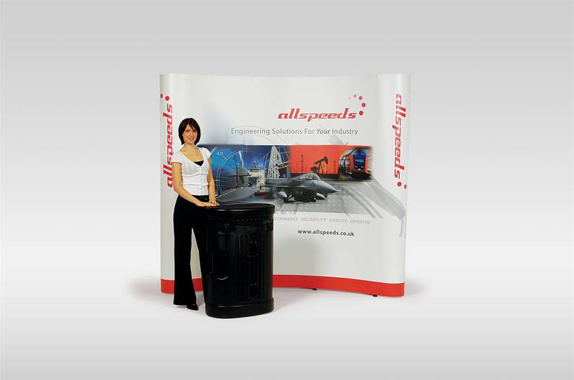 Benefits of Pop-up display stands over traditional banners Image 1