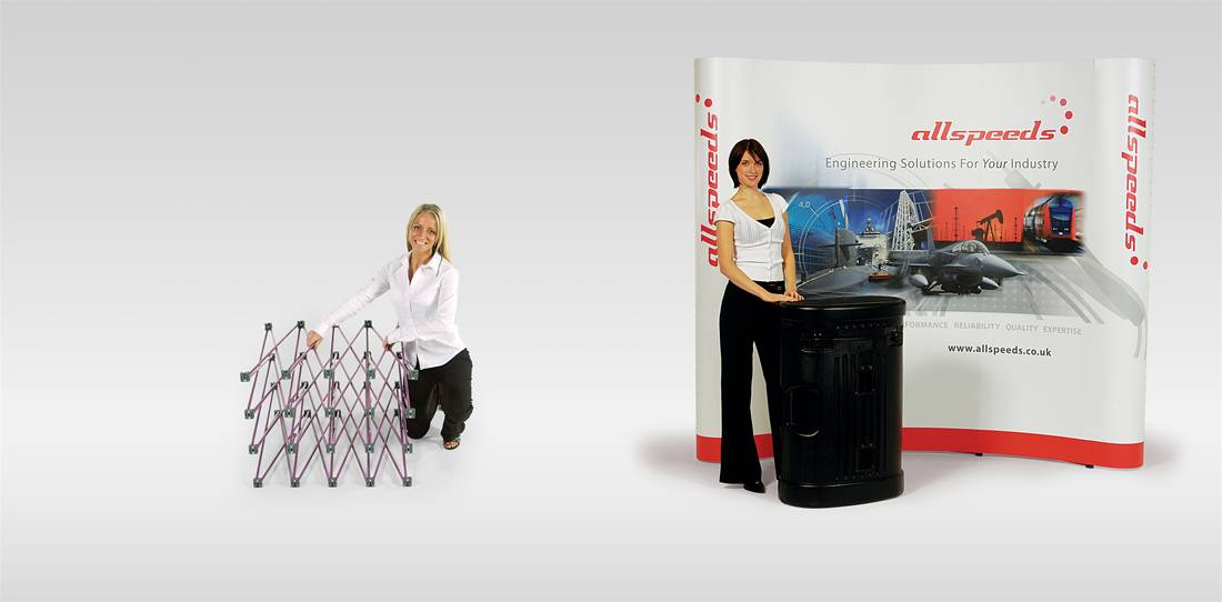 Pop-Up Display Stands 3 x 3 Image 1