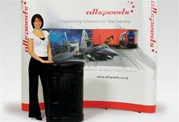 Pop-Up Display Stands 3 x 3