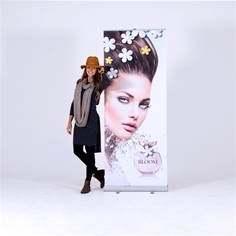 Image for Roller banners can tell any story, anywhere Story