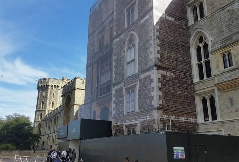 A Royal Wrap at Windsor Castle Image 1