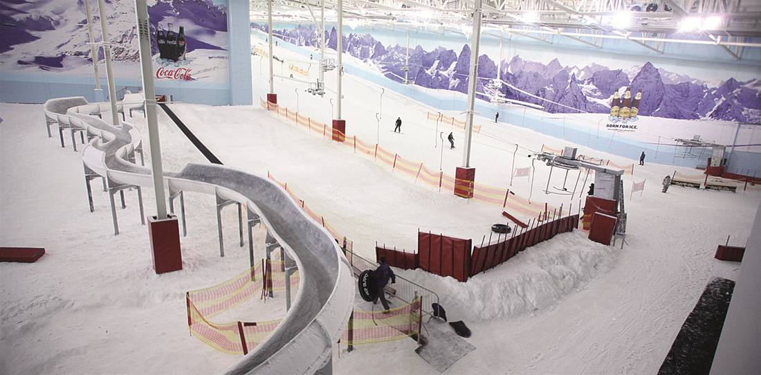 Indoor Snow Centre Graphics The Image Group Manchester