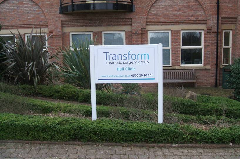 Corporate Branding - Transform Cosmetic Surgery Group Image 1