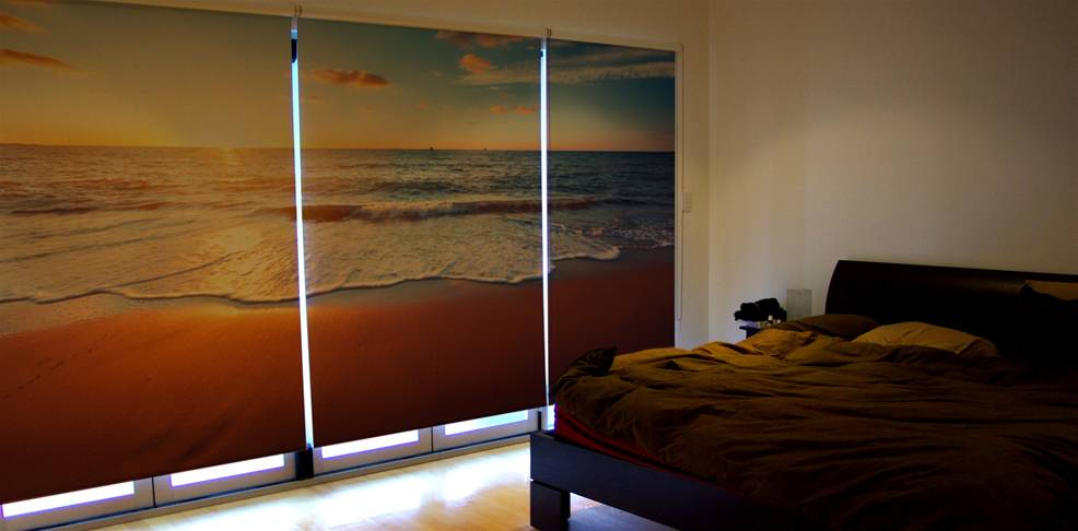 Custom Printed Roller Blinds The Image Group Manchester