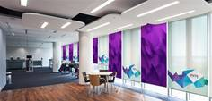 Image for Photo roller blinds can add a creative touch in commercial and home environments Story