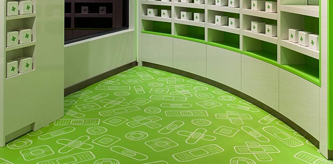 Commercial Grade Printed Flooring Image 14