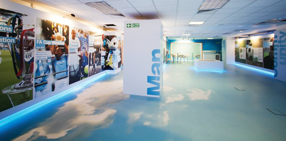Exhibition Stand Flooring : Printed linoleum the image group manchester
