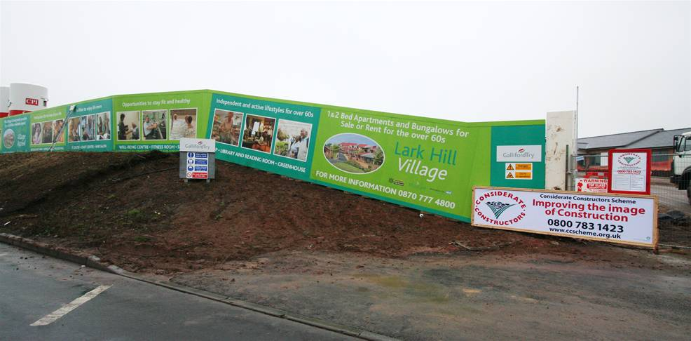 Printed Construction Site Hoardings Image 25