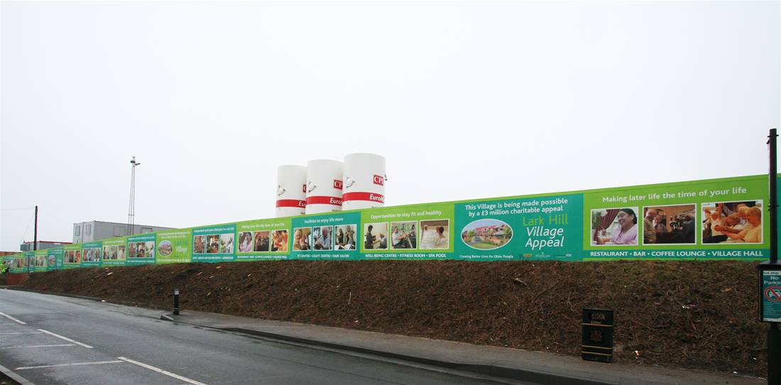 Printed Construction Site Hoardings Image 30