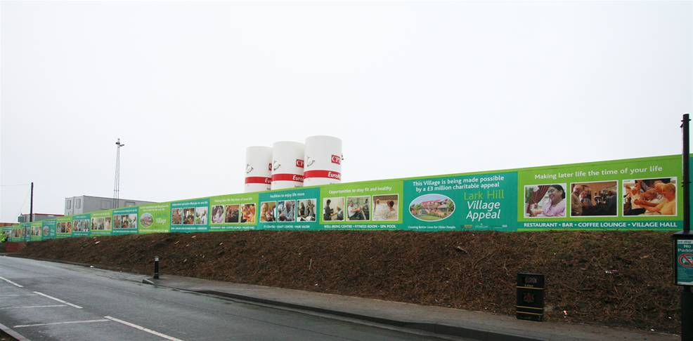 Printed Construction Site Hoardings Image 26
