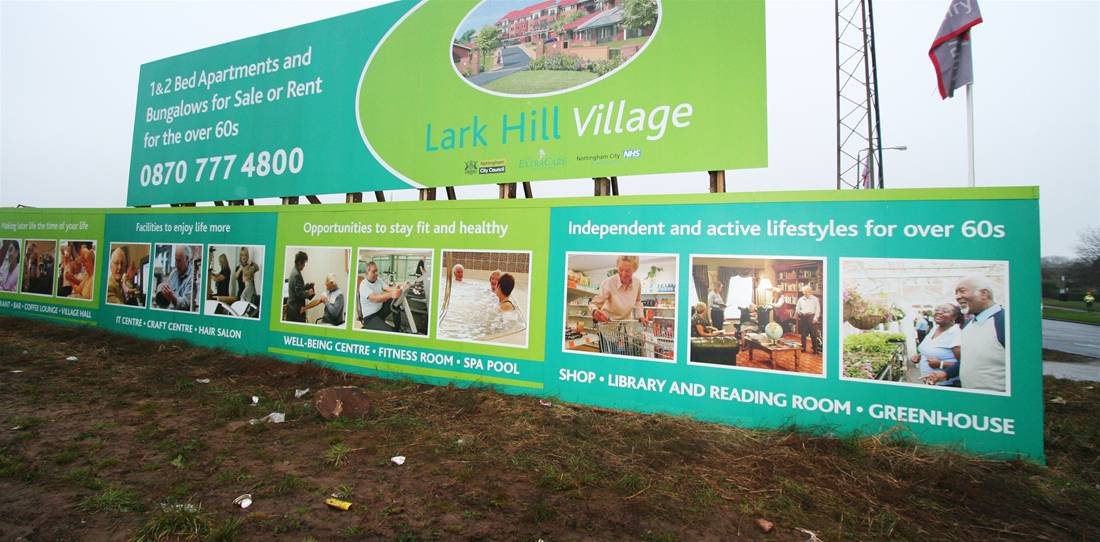 Printed Construction Site Hoardings Image 31