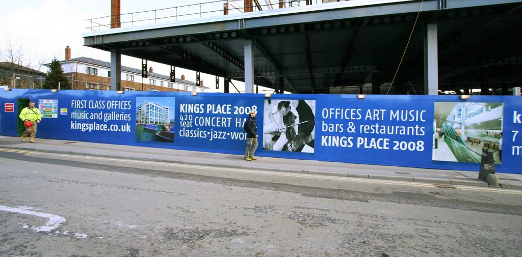 Printed Construction Site Hoardings Image 13