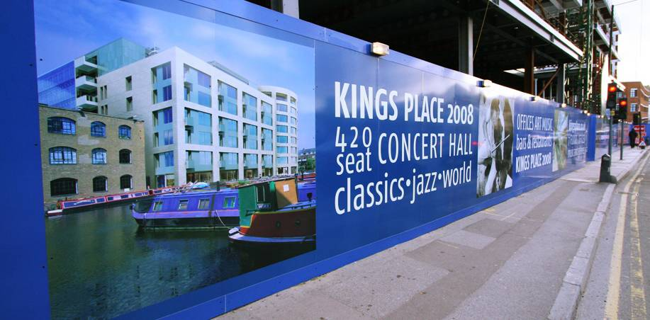 Printed Construction Site Hoardings Image 14