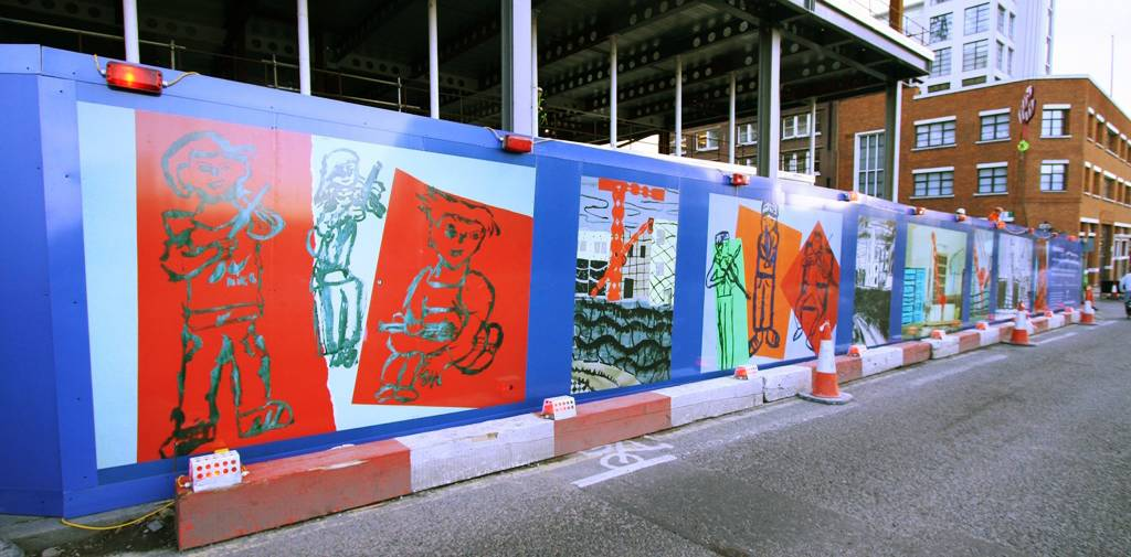 Printed Construction Site Hoardings Image 16