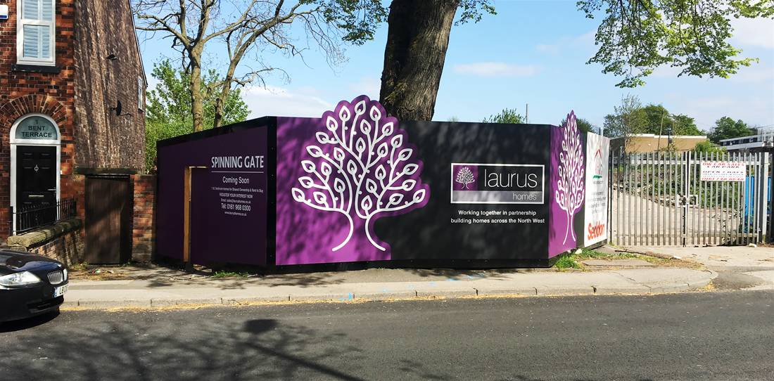 Printed Construction Site Hoardings Image 4