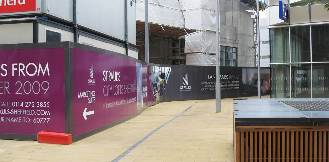 Getting the most out of Printed Site Hoardings Image 6