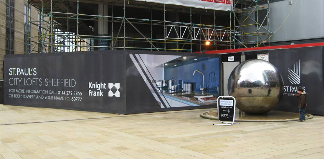 Printed Construction Site Hoardings Image 19
