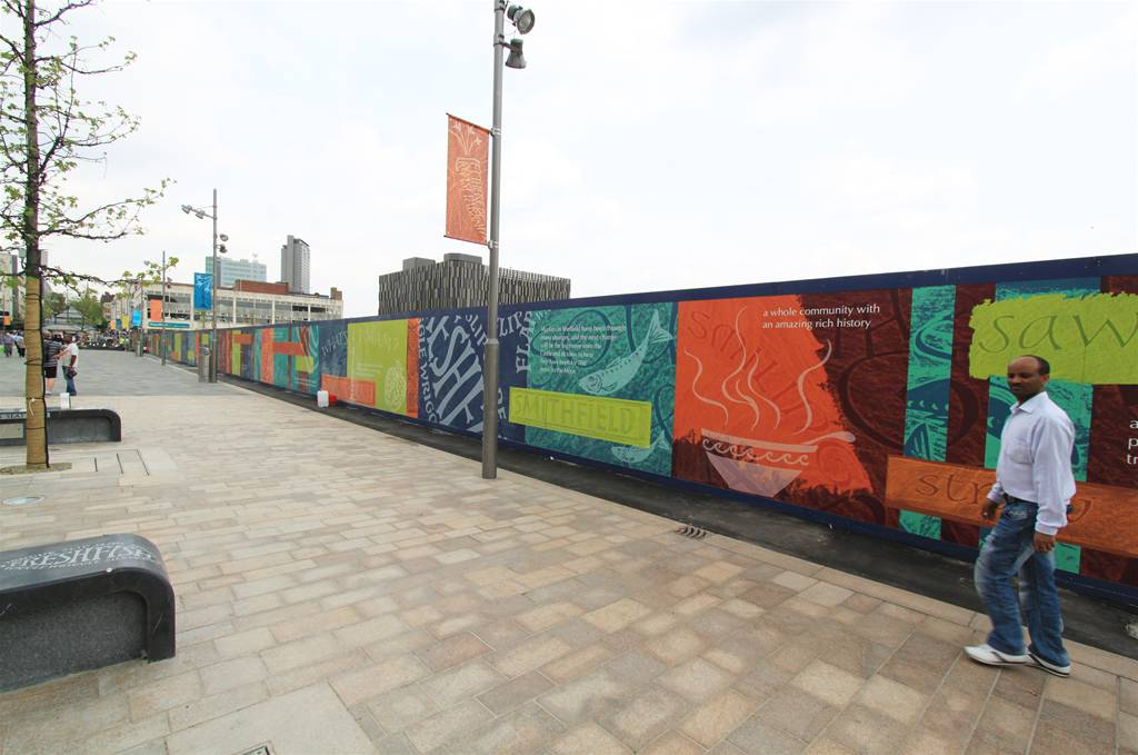 Getting The Most Out Of Printed Site Hoardings The Image
