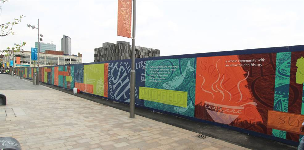 Printed Construction Site Hoardings Image 18