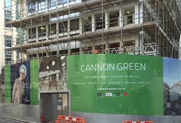 Printed Construction Site Hoardings