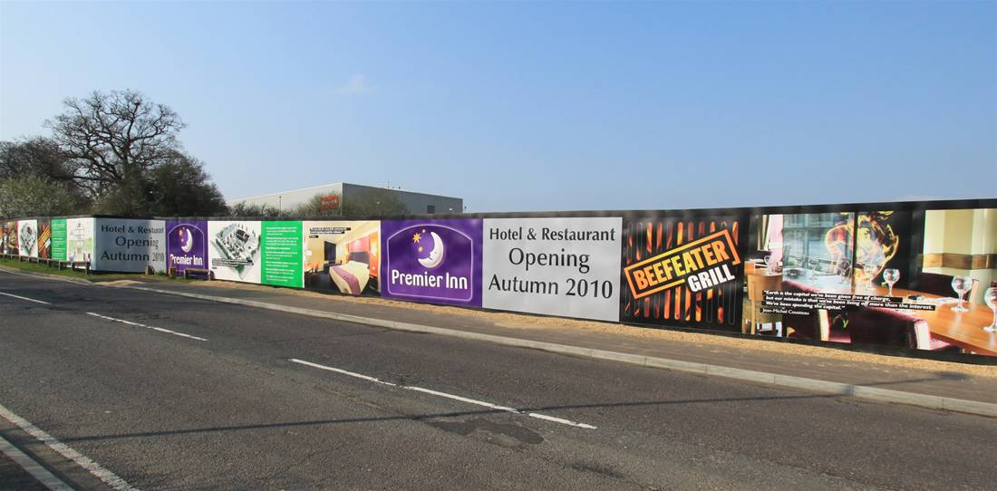 Getting the most out of Printed Site Hoardings Image 2