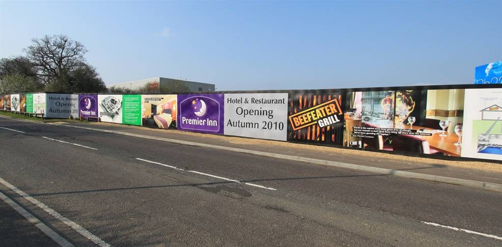 Printed Construction Site Hoardings Image 21