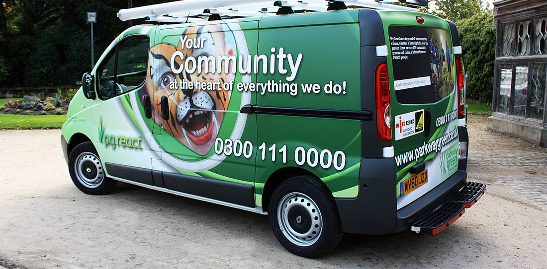 Car & Van Wraps, Commercial Vehicle Wrapping - The Image