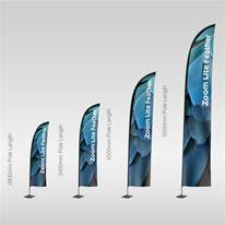 Zoom Lite Feather Flags