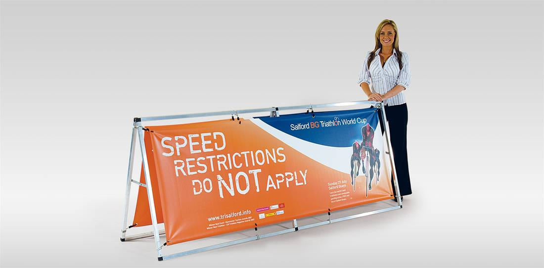 Monsoon Outdoor Banner Stand Image 1