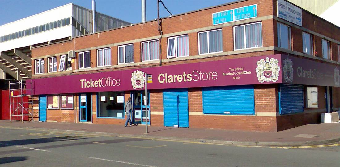 Sports Stadium Branding - Burnley Image 1